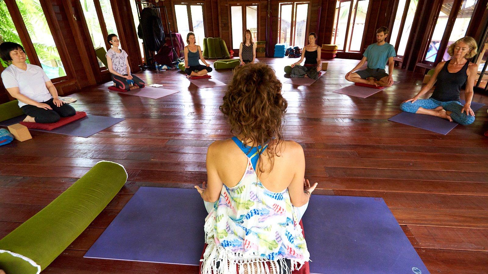 Yin Yoga Retreat Circle